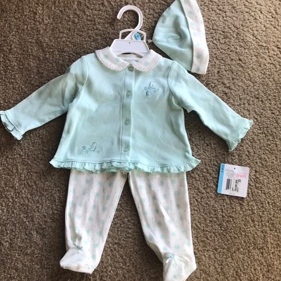 Little Me Other - Little Me baby girls Layette Set 6 months